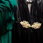Negro-dorado, una dupla elegante de Jorge Ibañez