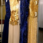 Azul noche y dorado, dos colores infaltables de Jorge Ibañez