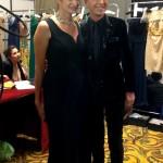 Mariana Arias junto a Jorge Ibañez
