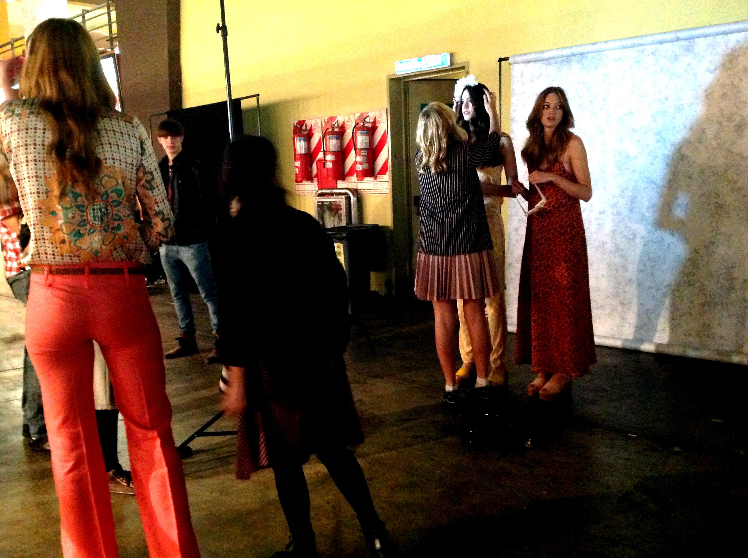 Ohlala Falabella Editorial Fashion Show en BAFWeek