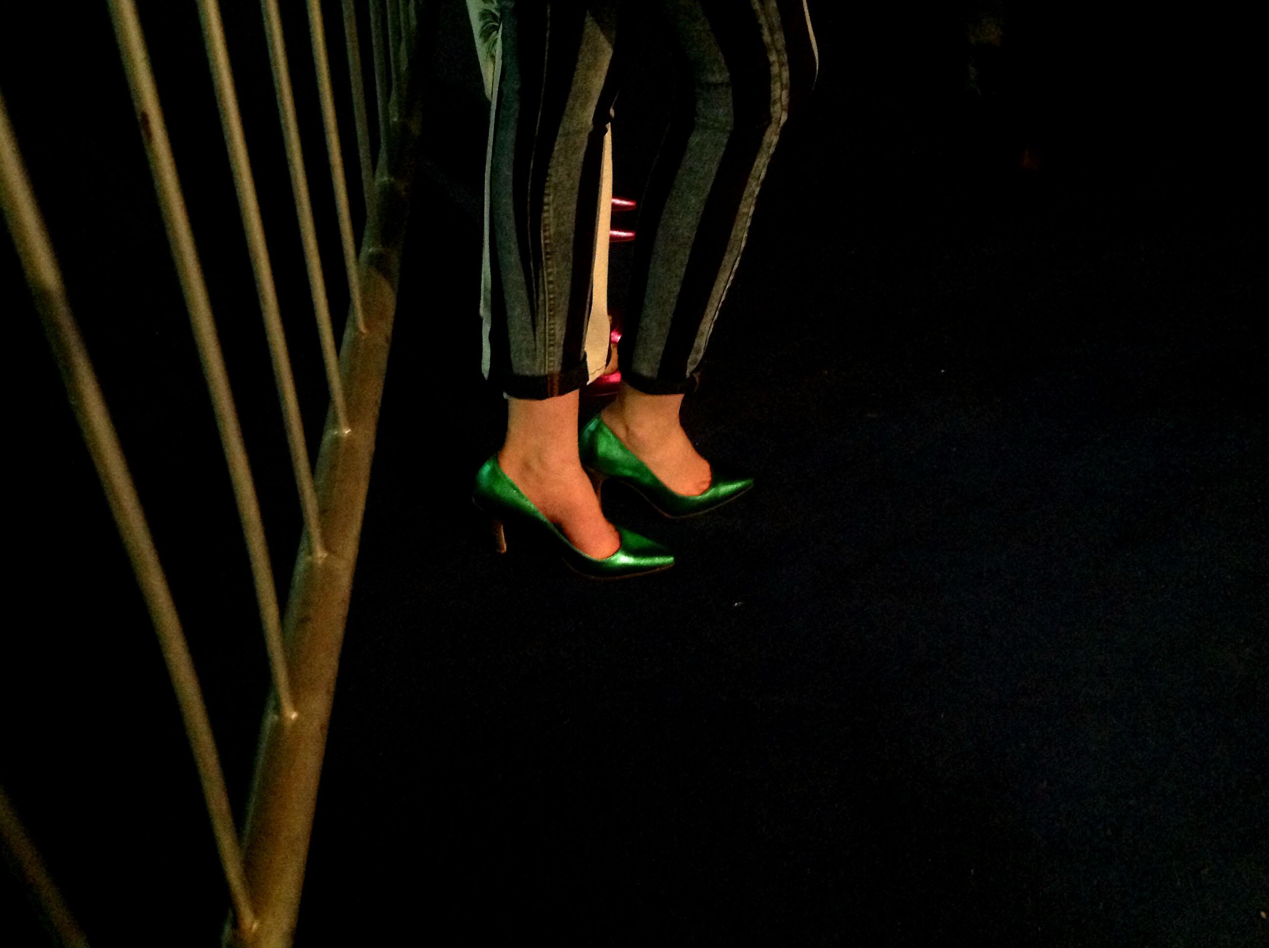 stilettos Falabella Editorial Fashion Show en BAFWeek