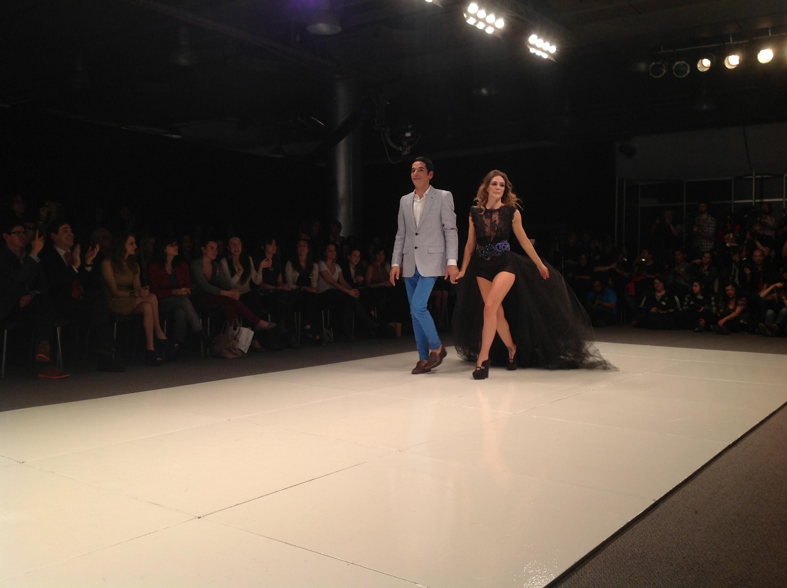 Dario Arbina y Emilia Attias en BAAM