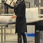 Anne Hathaway en LAX