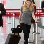 Kirsten Dunst en LAX