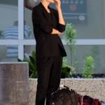 Carey Mulligan en el aeropuerto de Austin