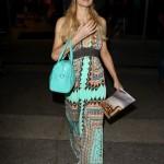Paris Hilton en el aeropuerto