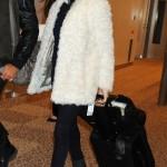 Rachel Weisz en el aeropuerto de Narita