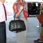 Miranda Kerr llega al aeropuerto