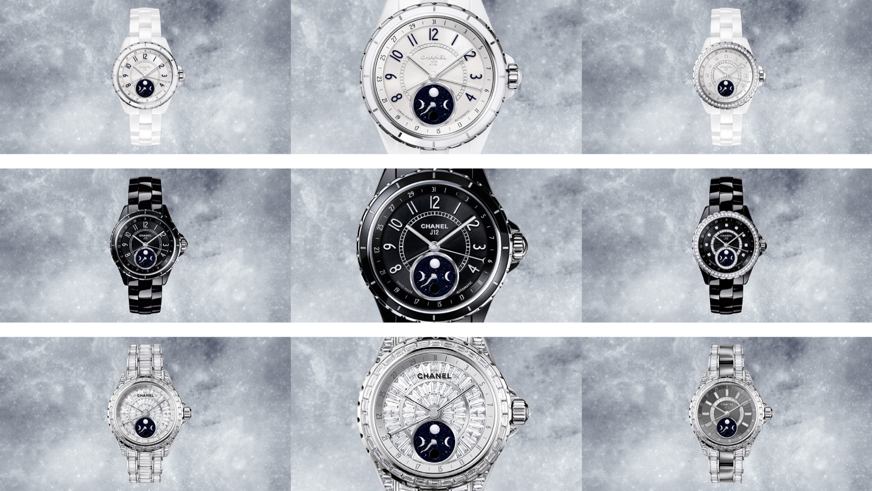 J12 Moonphase Chanel