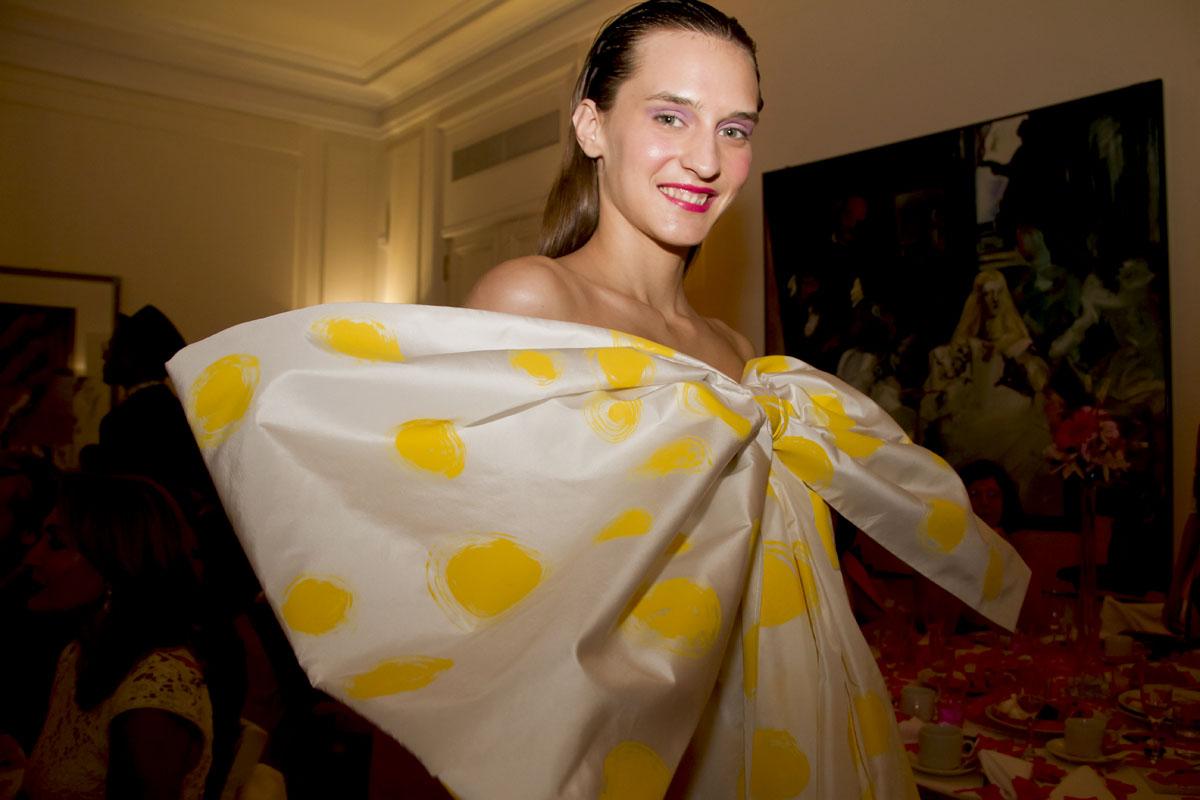 Agatha Ruiz de la Prada en el Six o clock Tea
