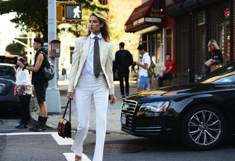 Looks con pantalon blanco