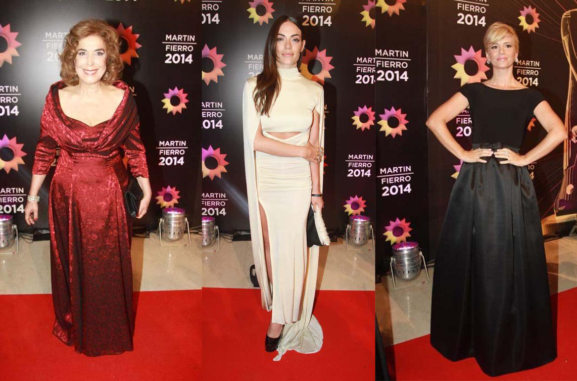 Mirta Busnelli por Santiago Artemis, Emilia Attias by Blackmamba y Griselda Siciliani con un Parblo Ramirez