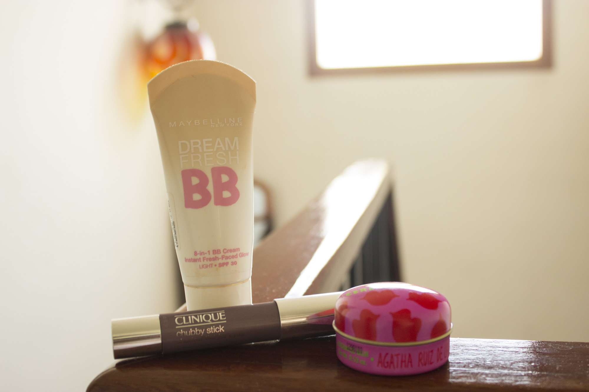 BB Cream Maybelline, Chubby Stick Clinique, Beauty des Levres Agatha Ruiz de la Prada