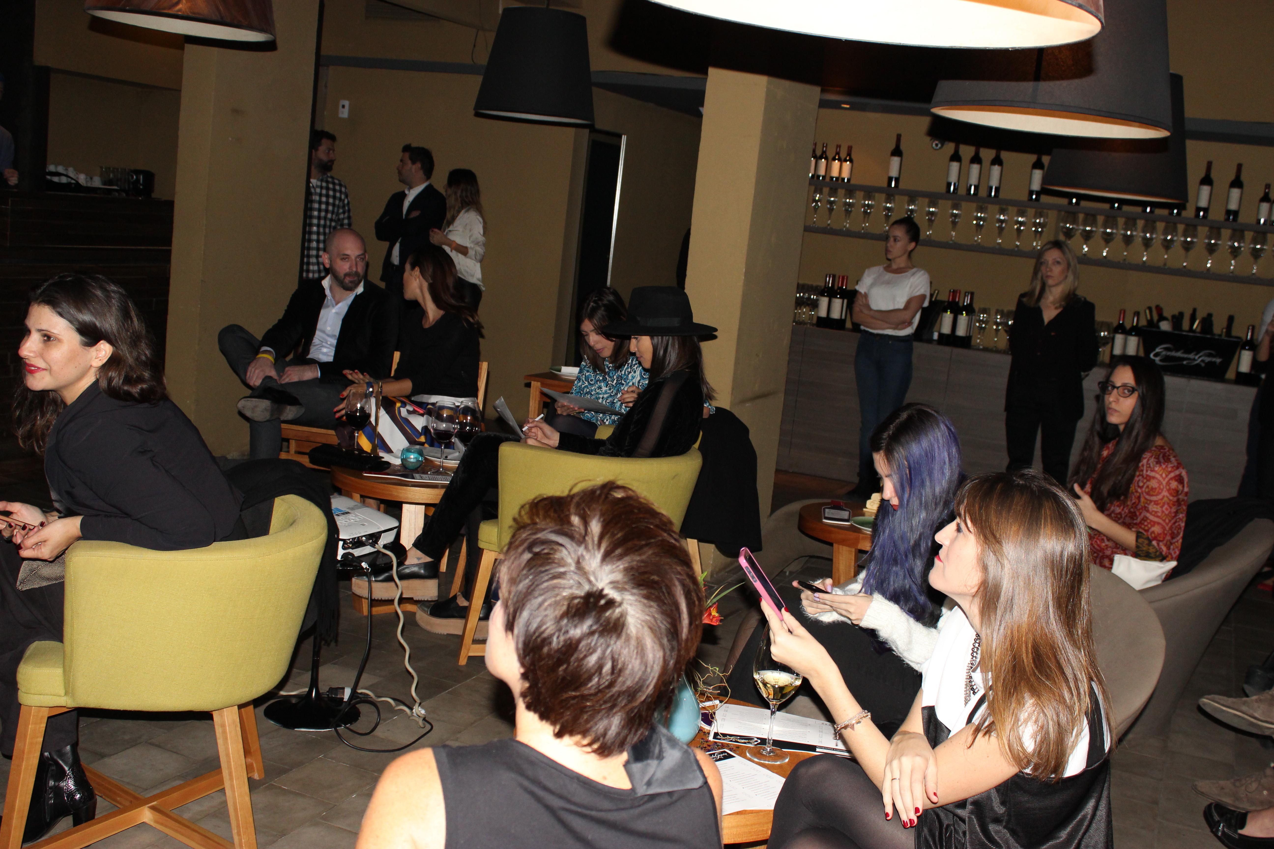 Bloggers e influencers en el evento