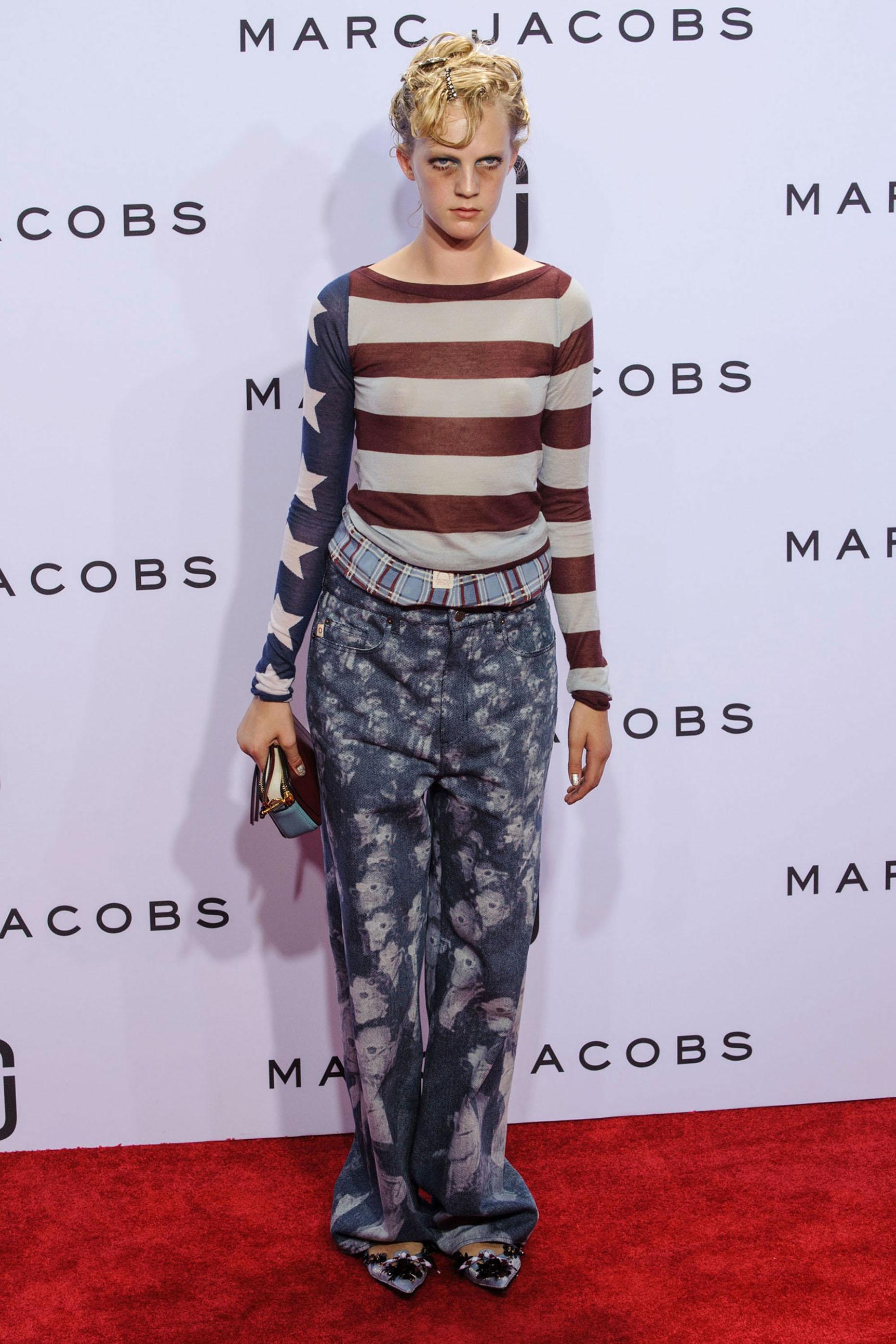 Looks relajados en la Alfombra Roja de Marc Jacobs