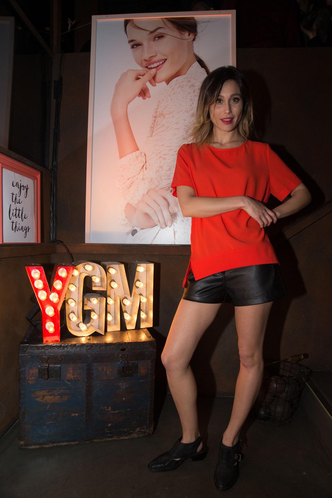 La actriz Mercedes Oviedo estuvo en el lanzamiento de Caleidoscopio, la coleccion primavera verano 2016 de Yagmour