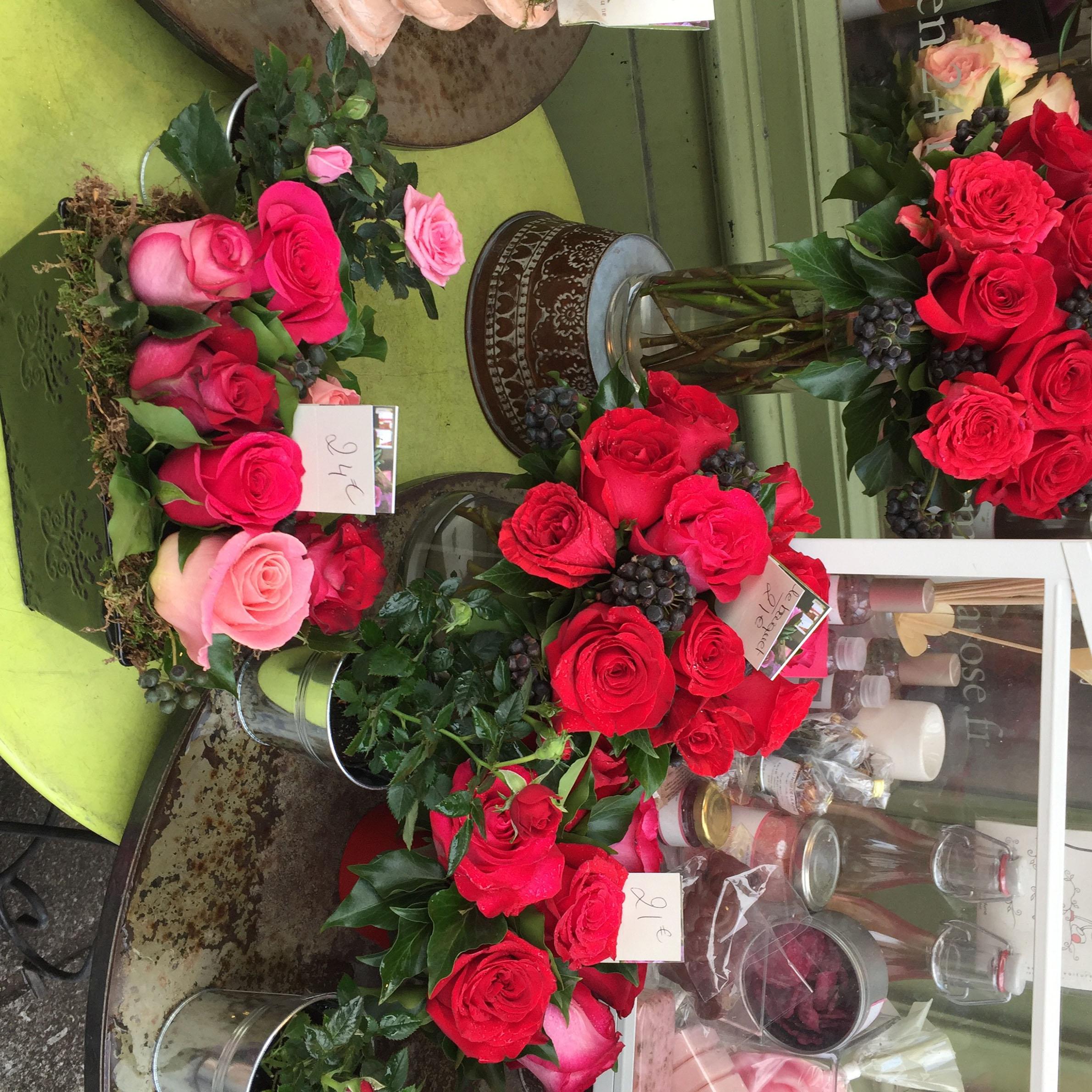 Una floreria en Le Marais
