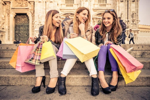 Three-Women-With-Shopping-Bags