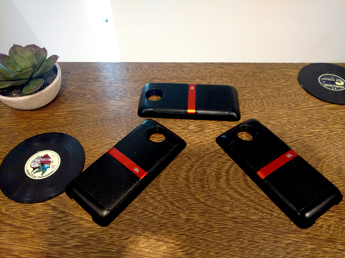 Los módulos de parlante que además permiten sicronizar vía Bluetooth a otros dispositivos.
