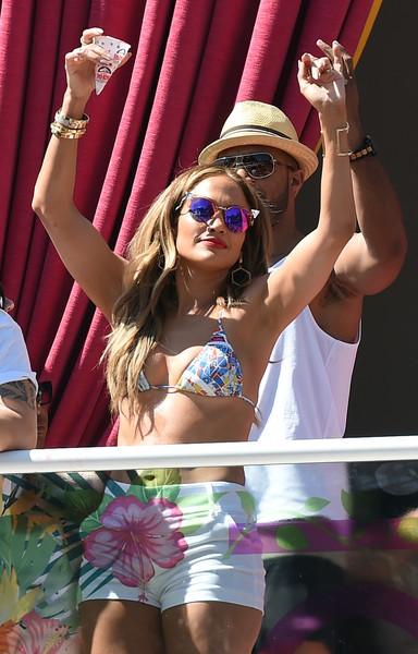 Con estampas para Jennifer Lopez