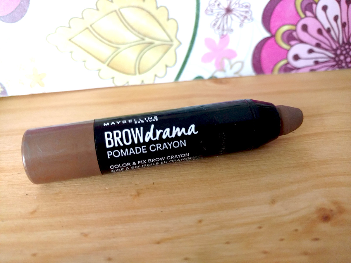 Brow Drama Pomade Crayon - Maybelline - TesteadoxSlm